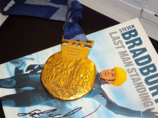 Profile Magazine Online book-and-medal Up To Speed: With Steven Bradbury