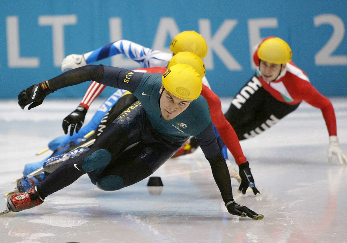 Profile Magazine Online skating-action-shot Up To Speed: With Steven Bradbury