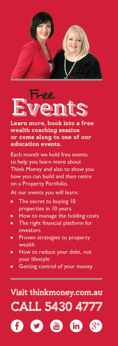 Profile Magazine Online FreeEvents IF YOU THINK YOU CAN'T CREATE WEALTH FROM EQUITY... THINK AGAIN