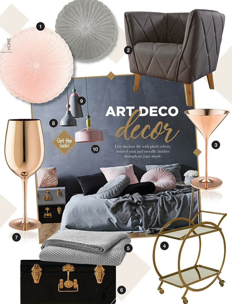 Profile Magazine Online Home-08_17 Art deco decor
