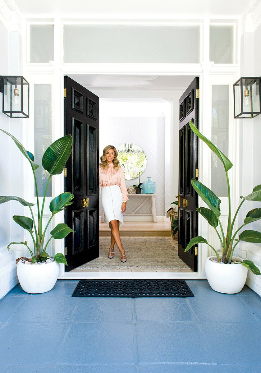 Profile Magazine Online DanniMorrison2 Hamptons home sweet home