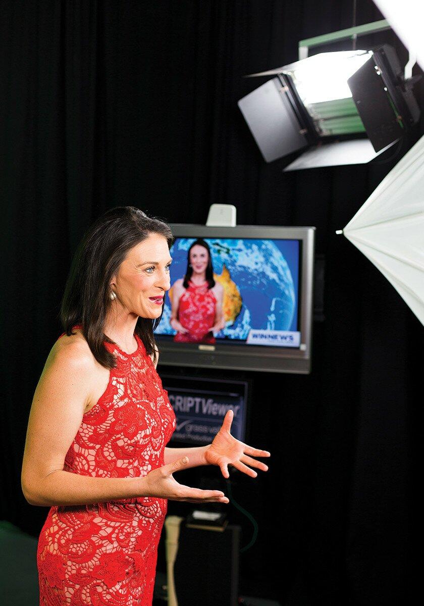 Profile Magazine Online Hannah2 A seasoned presenter