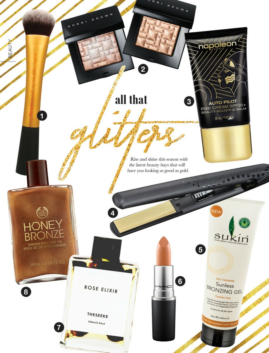Profile Magazine Online Beauty All that glitters