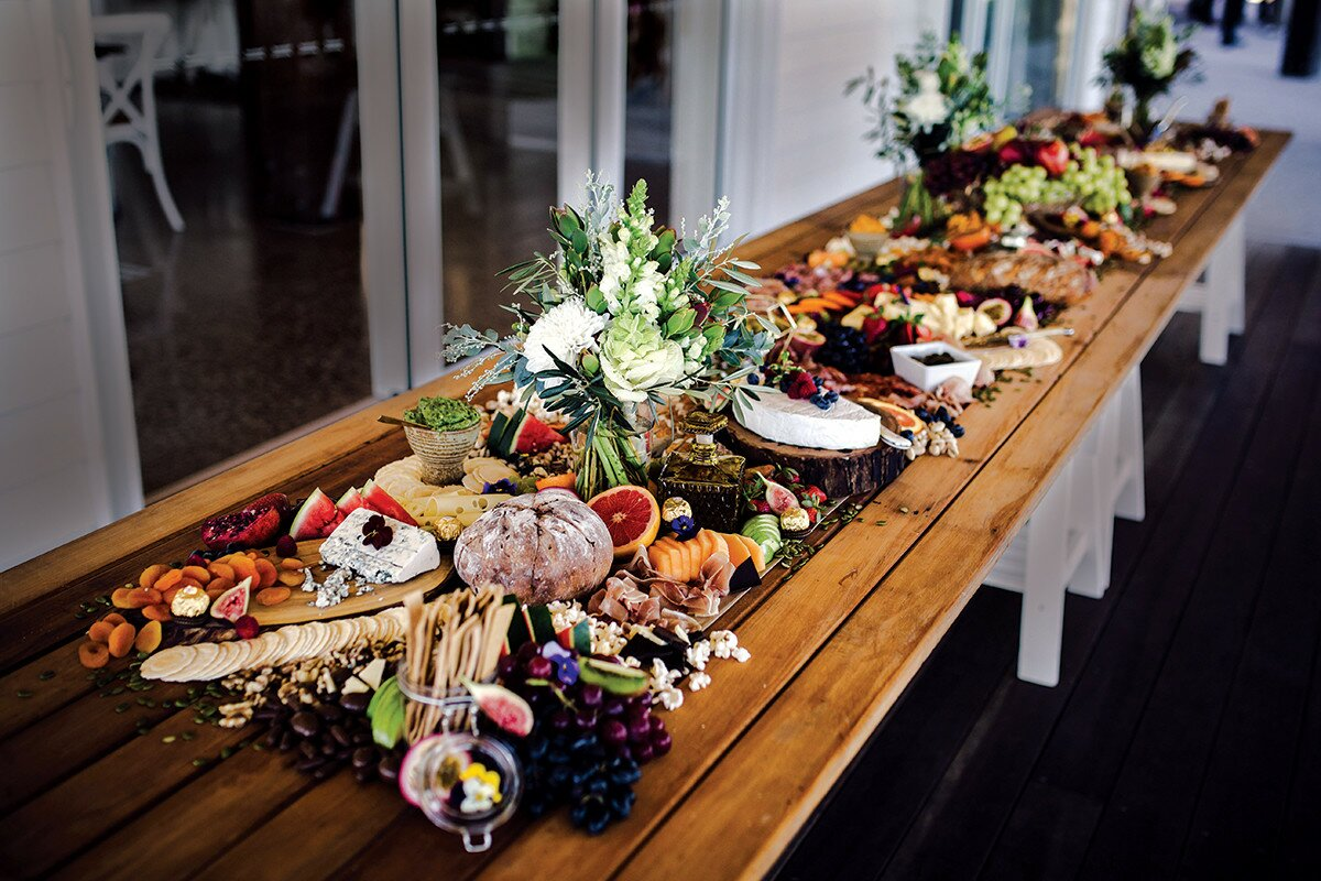 Profile Magazine Online lavish-platters Bride Guide 2018: Catering and Cakes