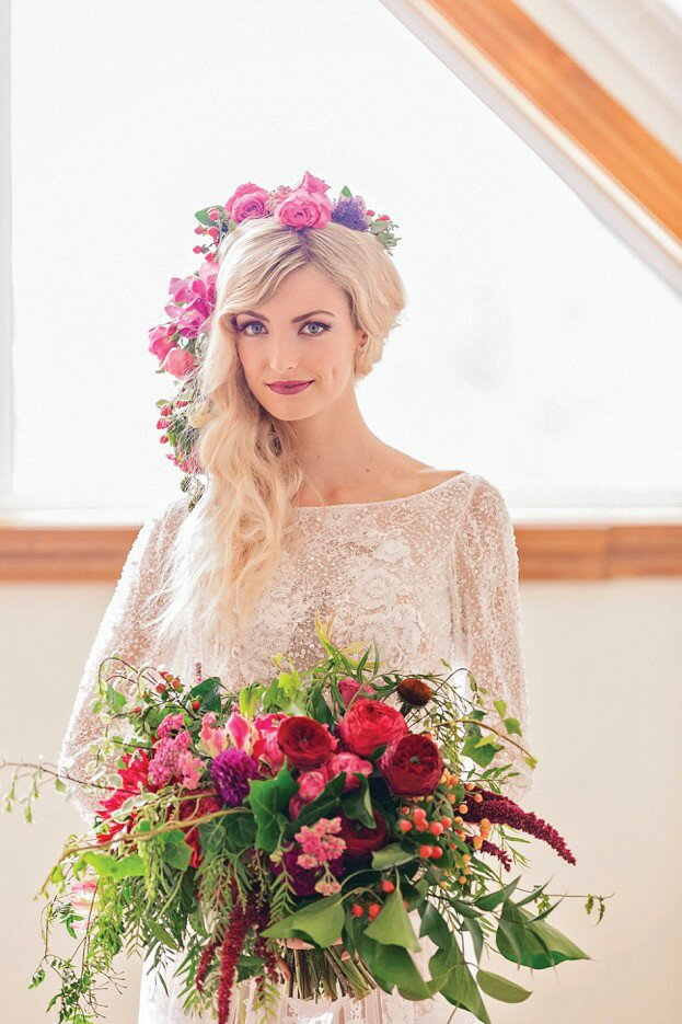 Profile Magazine Online melina-dee Bride Guide 2018: Hair and make-up