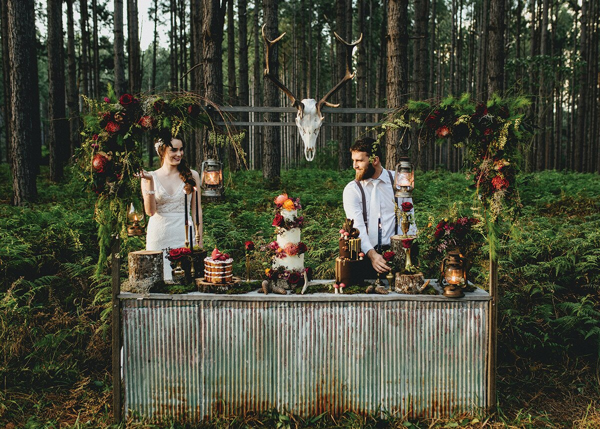 Profile Magazine Online vintage-stockroom Bride Guide 2018: Flowers and Styling