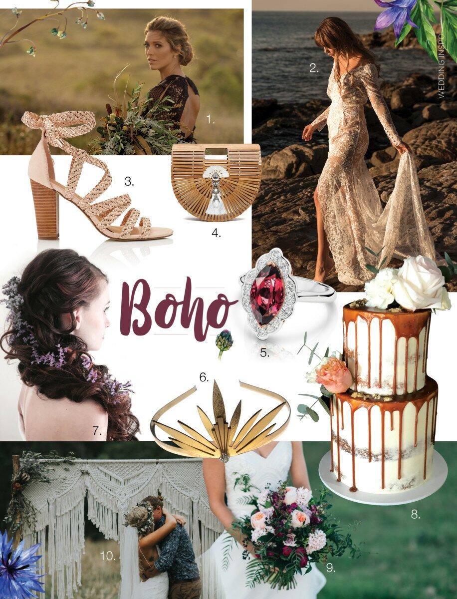 Profile Magazine Online wedding-style-boho Wedding Inspo: Boho