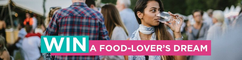 Win a food-lover's dream