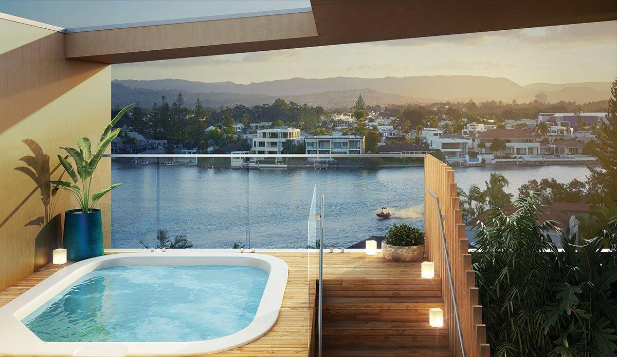 Profile Magazine Online TIR-4 Property Wrap: The Peninsular Residences, Gold Coast