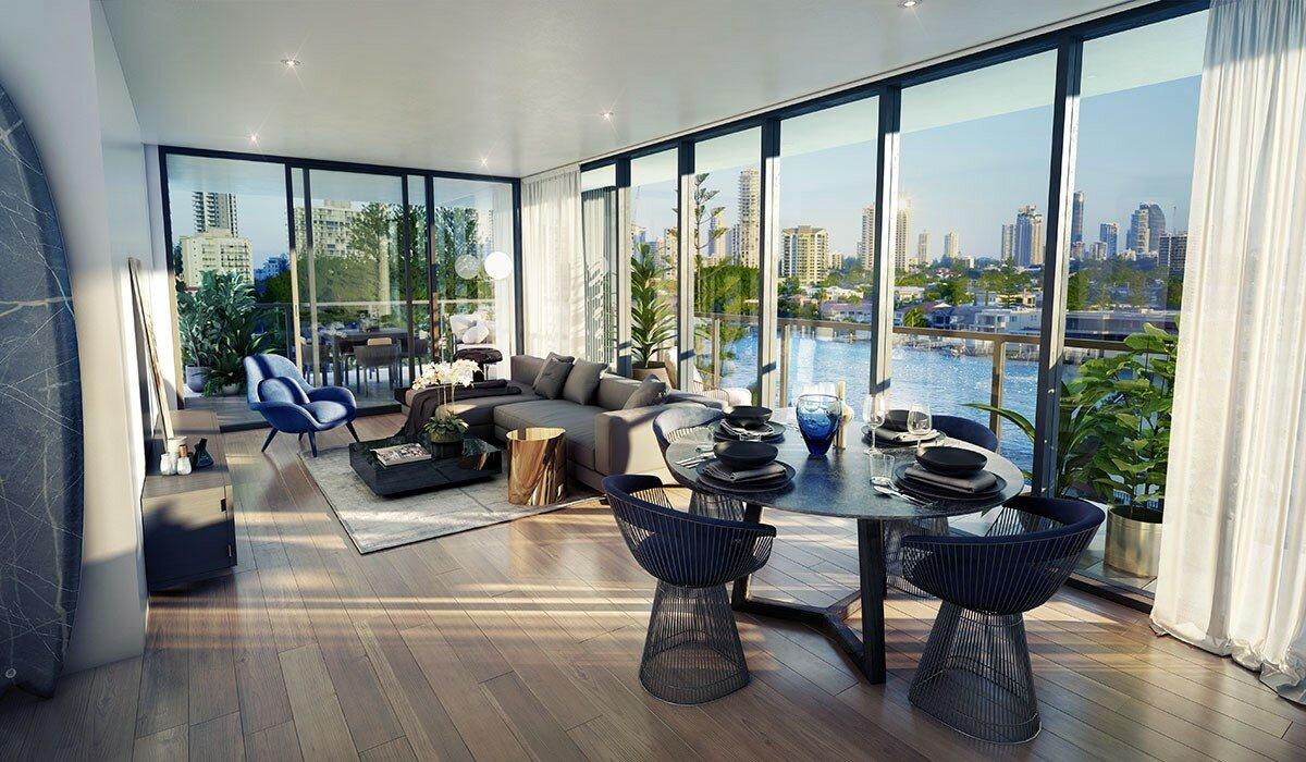Profile Magazine Online TIR-6 Property Wrap: The Peninsular Residences, Gold Coast