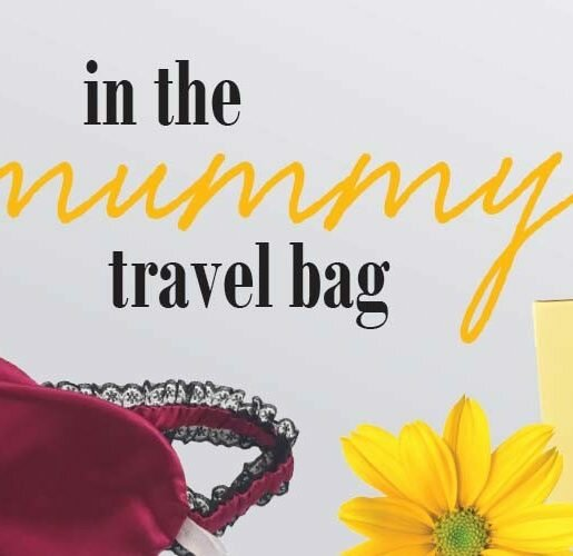 In the mummy travel bag