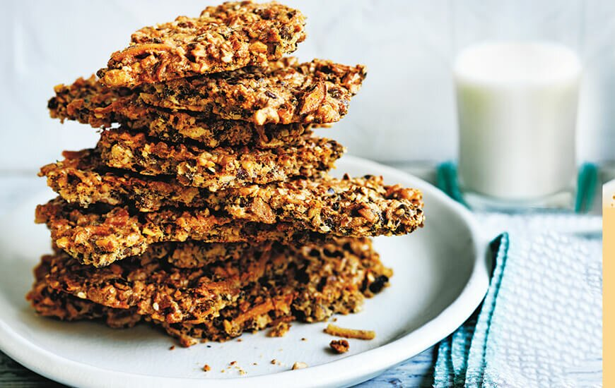Clever Cooking: Crunchy Nut Snaps