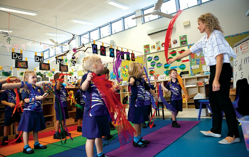 Caloundra City Private School creating character