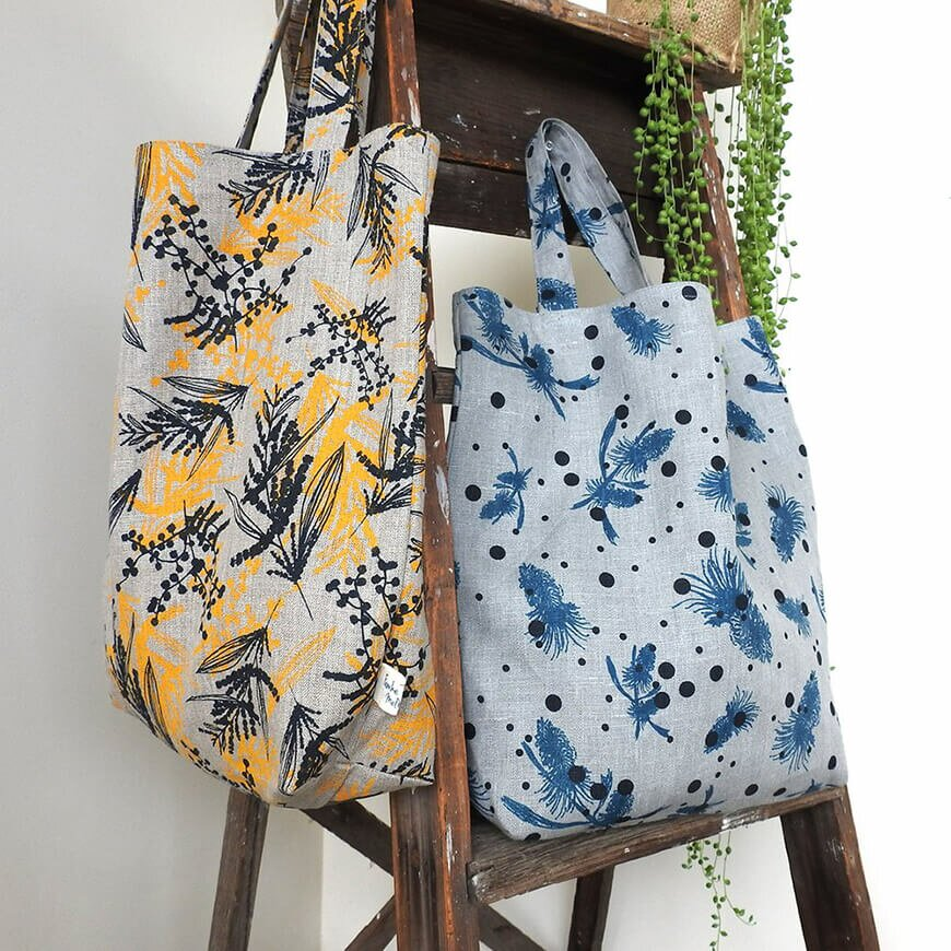 Femke Linen Market bag