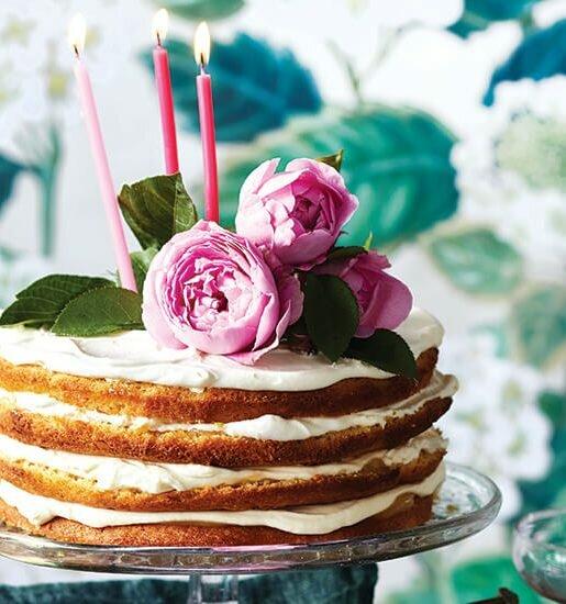 Recipes: Citrus mascarpone layer cake and more