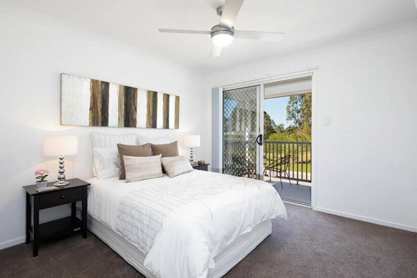 Nudgee Square Bedroom