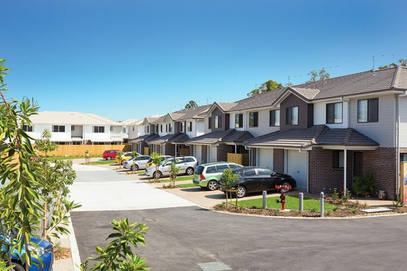 Nudgee Square townhouses