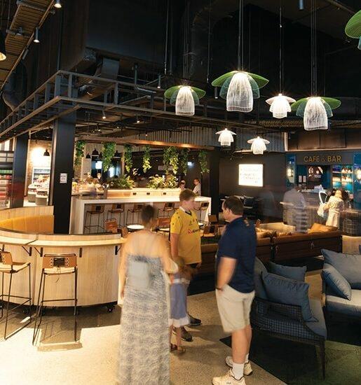 A world of cuisines at Kawana Shopping World