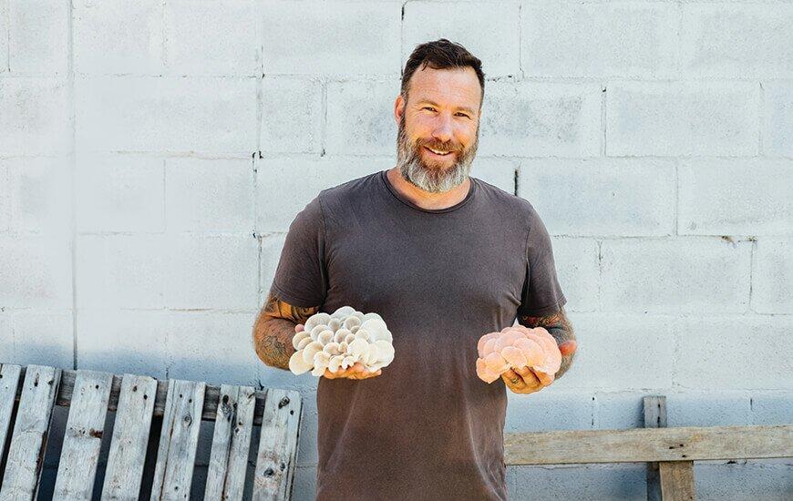 Simon Jones shares the magic of mushrooms