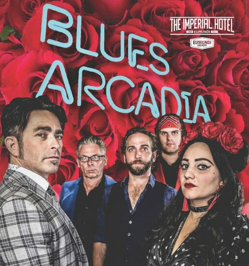 BLUES ARCADIA supported by Danny Widdicombe